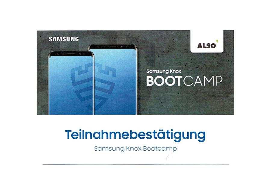 Samsung Knox BootCamp 2019