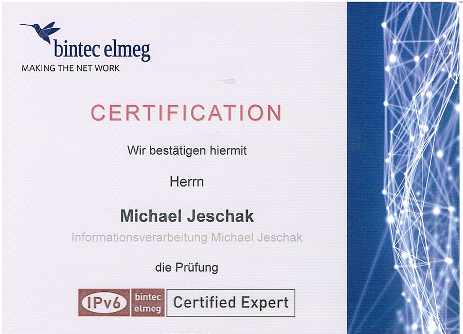 bintec elmeg Certified Expert CE-IPv6 19.04.2018