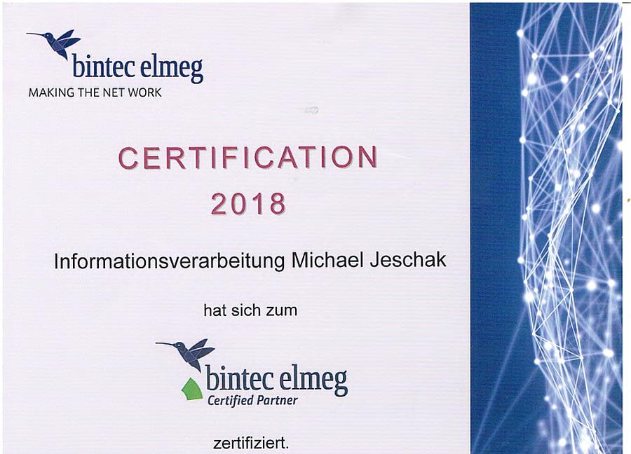 bintec elmeg Certified Partner 07.03.2018